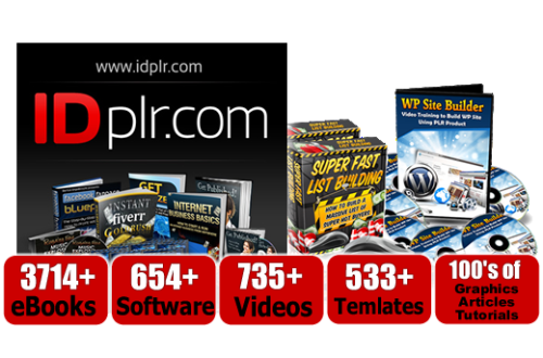 What is PLR? IDPLR Review – 12,590+ PLR Products