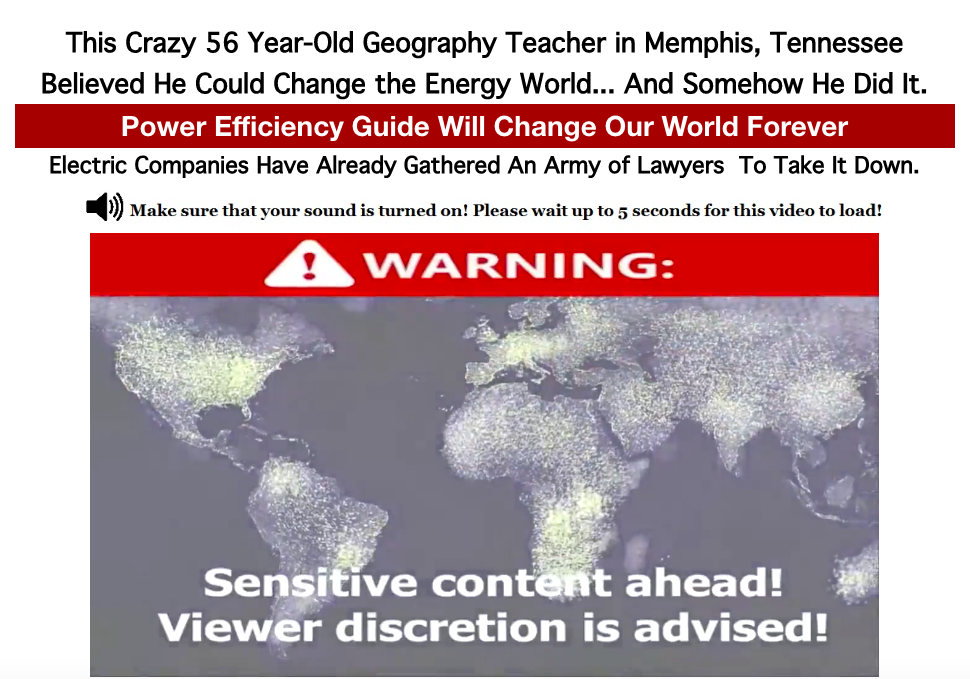 Battling Global Warming: Losing your Energy Source This Crazy 56 Year-Old Geography Teacher in Memphis, Tennessee Believed He Could Change the Energy World... And Somehow He Did It.