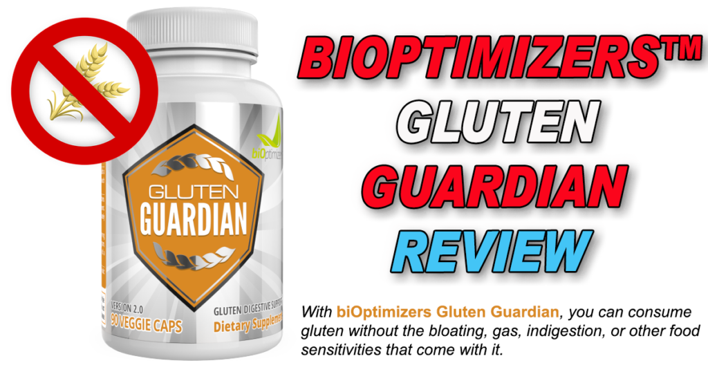 With biOptimizers Gluten Guardian, you can consume gluten without the bloating, gas, indigestion, or other food sensitivities that come with it.